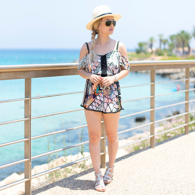 Playsuit For The Beach