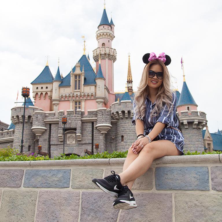A Day In Disneyland Hong Kong
